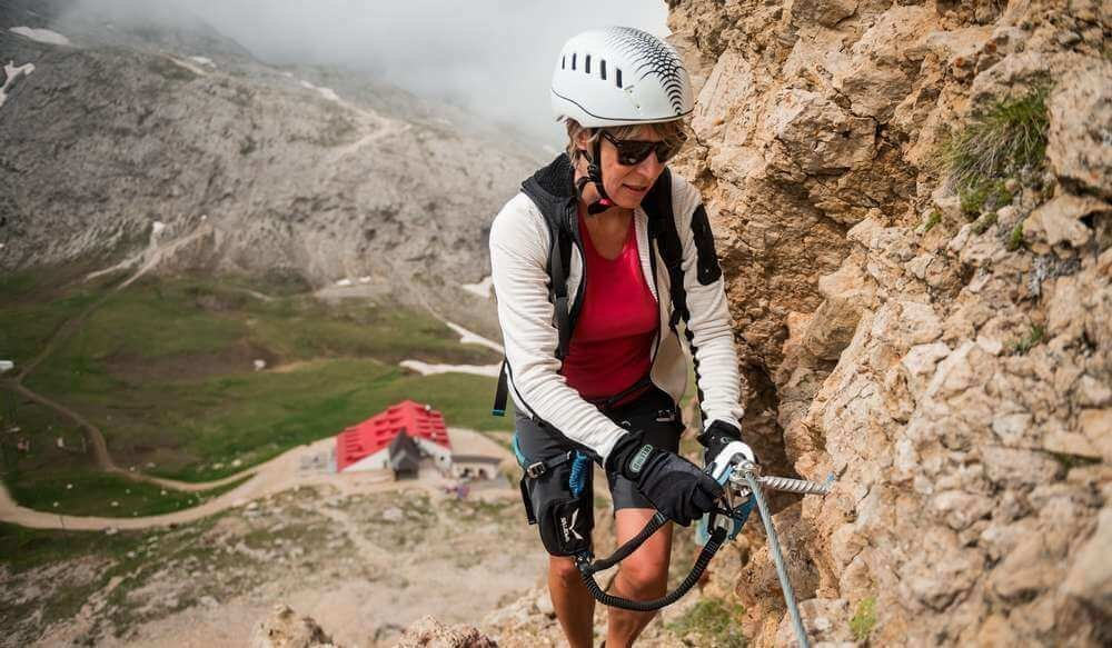 Guided hikes and challenging climbing tours