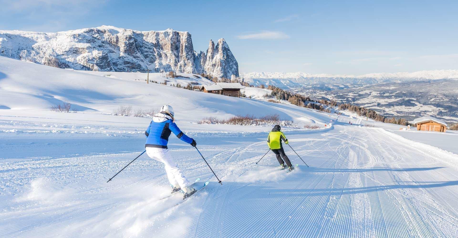 Skiurlaub Seiser Alm